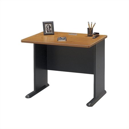 "Bush Business Series A 36"" Desk in Natural Cherry - image 4 of 5"