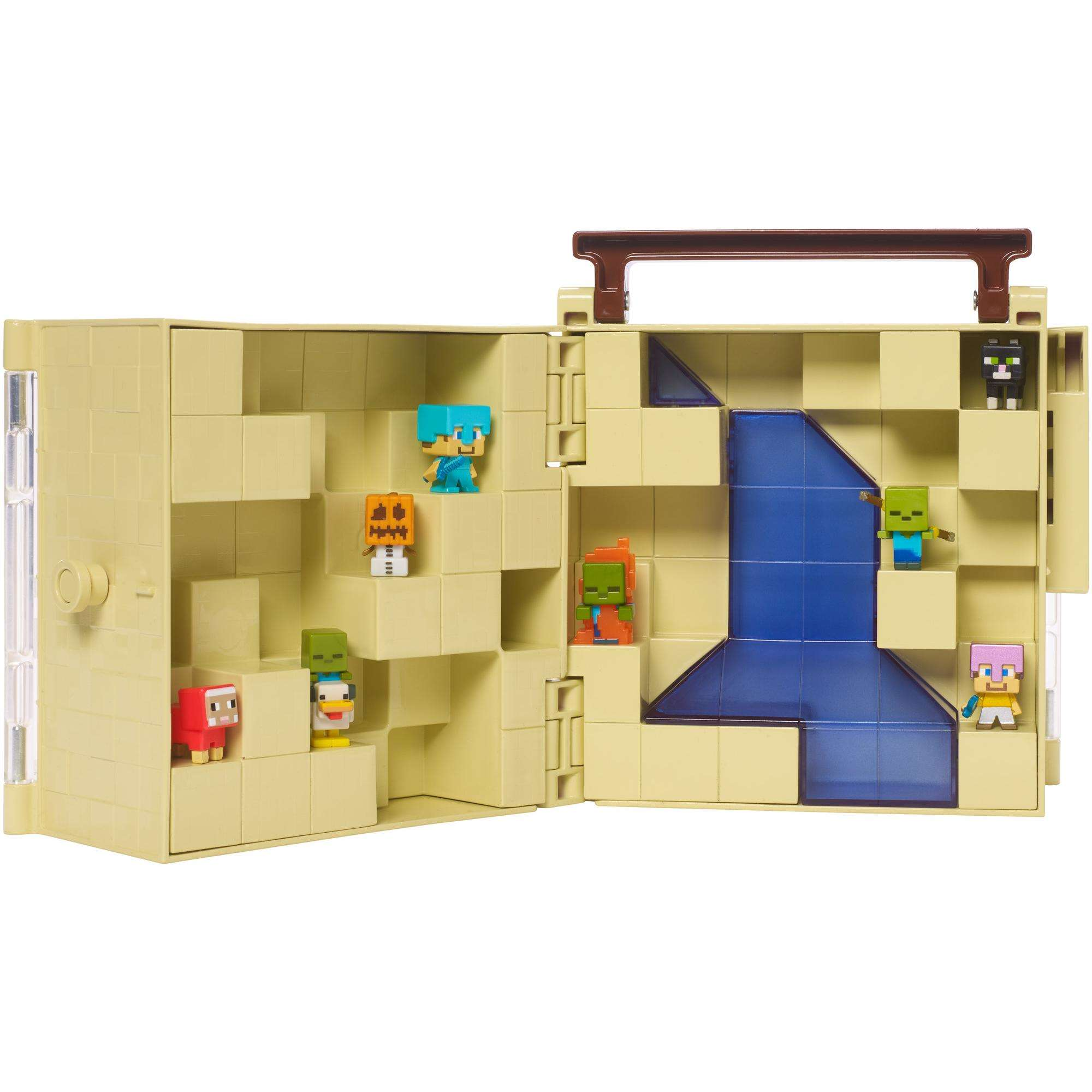 Minecraft Mini Figure Collector Case by MATTEL BRANDS A DIVISION OF MATTEL DIRECT IMPORT INC