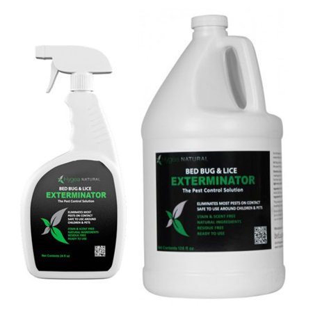 Bed Bug 911 Exterminator Spray And Refill Combo Pack