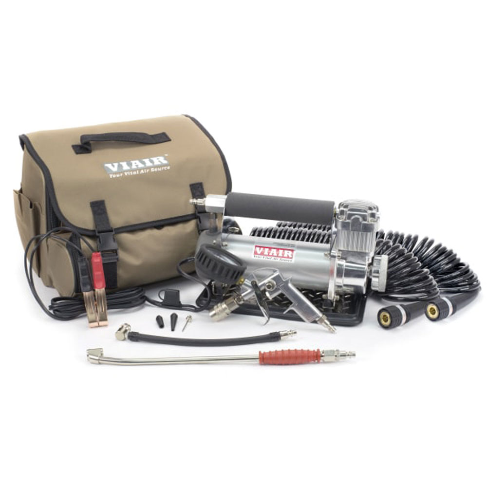 Viair 450P-RV Automatic Auto Portable 12V, 150 PSI Air Compressor Kit for Tires