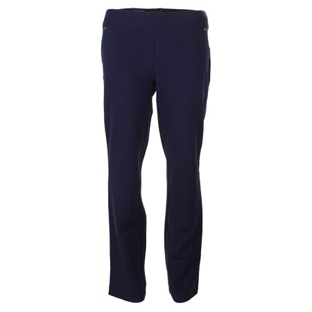 INC Womens Navy Mid Rise Straight leg Pants  Size: 4