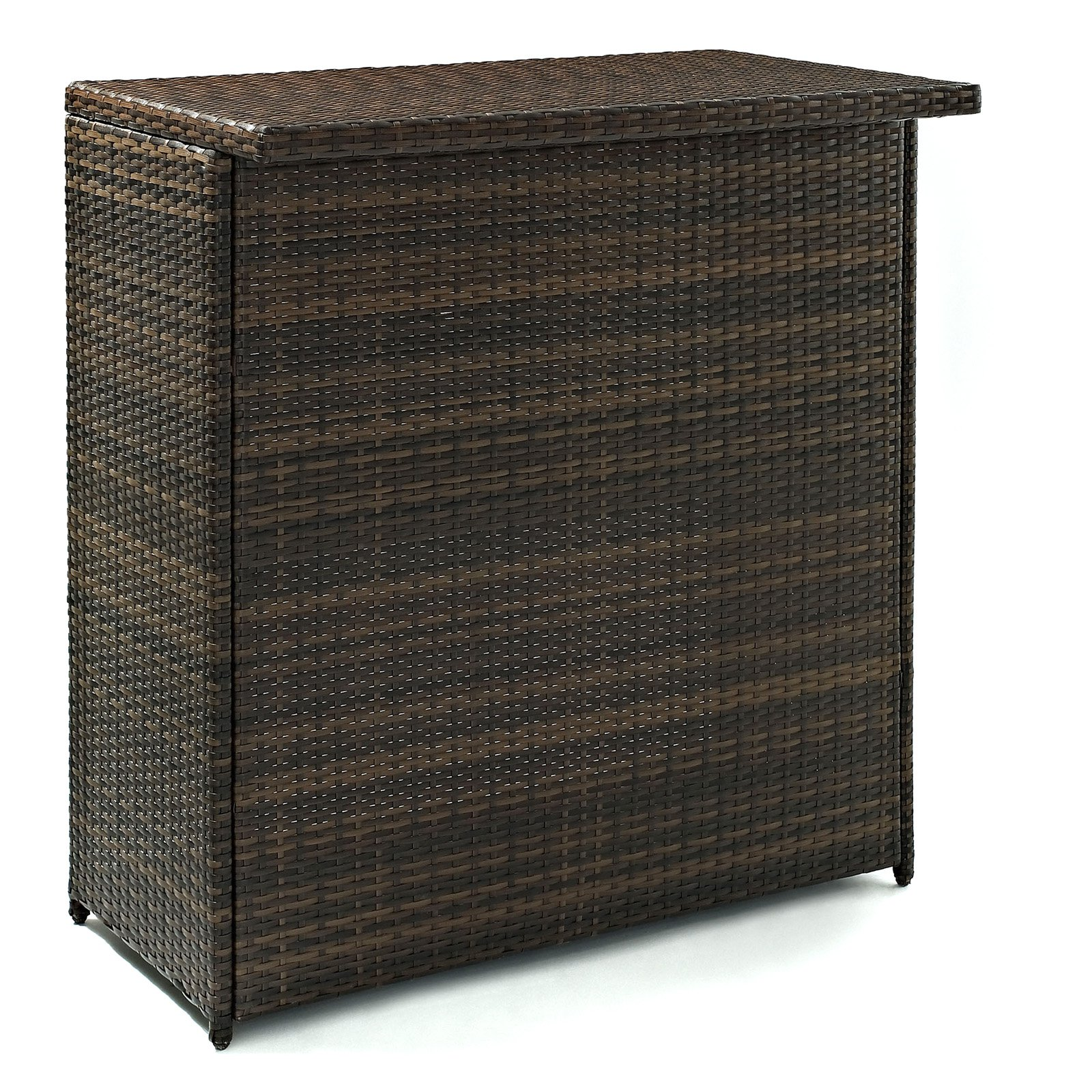 Crosley Palm Harbor Outdoor Wicker Bar