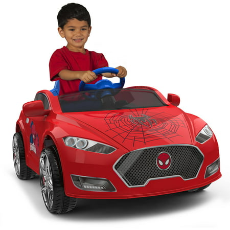 Spider Man 6V Speed Electric Battery Powered Coupe Ride On