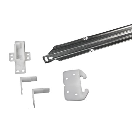 "RV Designer H303 Drawer Repair Kit w/ Drawer Slide, Rear Socket, 2 Corner Slides, 24"" Rail"