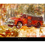 Pivot Publishing - A PPAPVP1987 Old Rusty -24 x 20 Poster Print