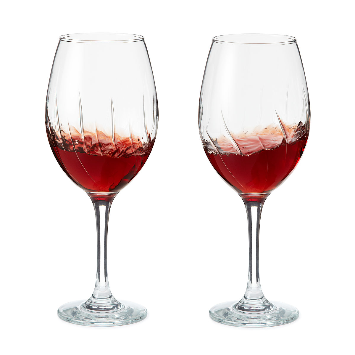 Aerating Wine Glasses -Set of 2 by Global Amici