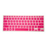 "PcProfessional Hot Pink Ultra Thin Silicone Gel Keyboard Cover for Dell inspiron 13 5000 series 7000 series 5368 5378 7368 7378 13.3"" 2 in 1 touch Laptop (Please Compare Keyboard Layout and Model)"