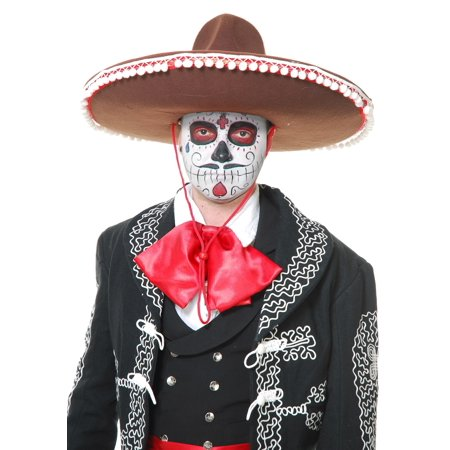 Adult Brown Mariachi Sombrero