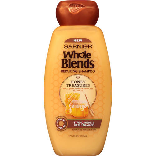 Garnier Whole Blends Repairing Shampoo Honey Treasures 12.5 FL OZ