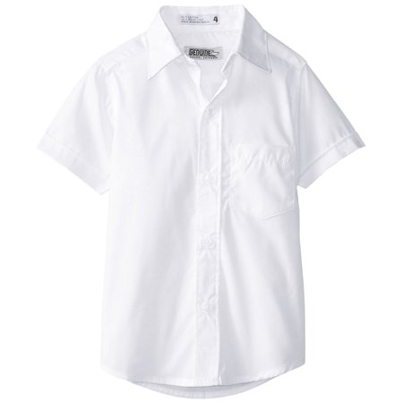 (Genuine Uniform Boys Short Sleeve Woven Shirt)