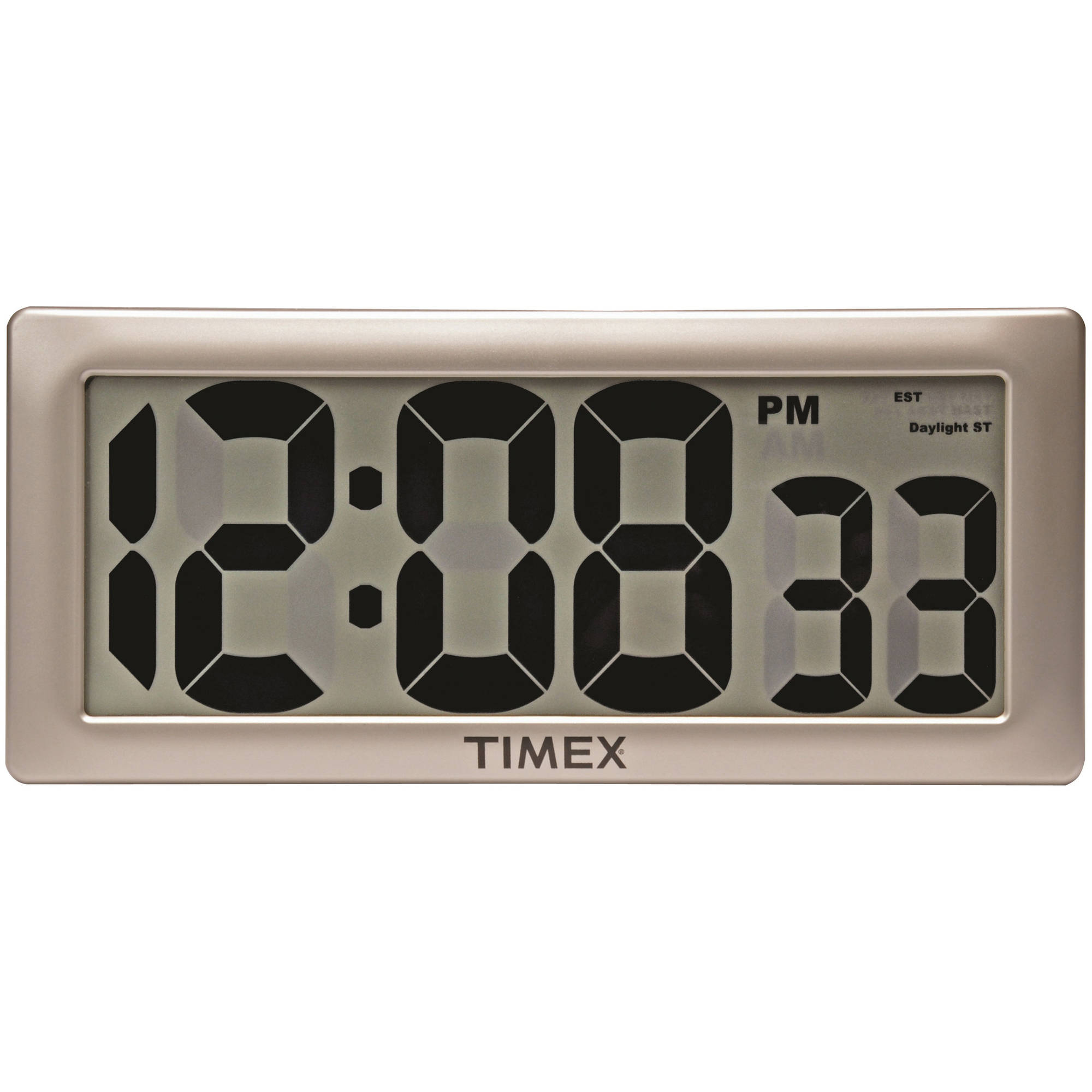 "AcuRite 13.5"" Timex Intelli-Time Extra-Large Digital Clock"
