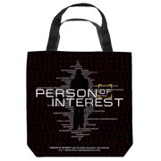 Person Of Interest Numbers Tote Bag White 13X13