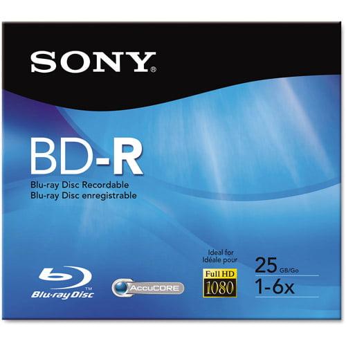 BLU-RAY RECORDABLE DISC 6X SPEED 25GB