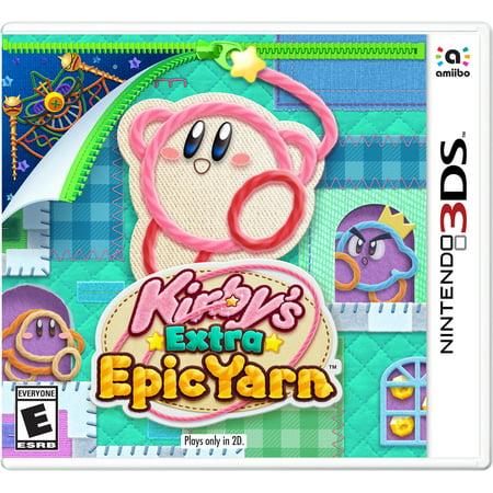 Kirby's Extra Epic Yarn, Nintendo, Nintendo 3DS, 045496745028