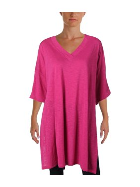 f13417100a7 Product Image we the free womens city slicker oversized v-neck tunic top