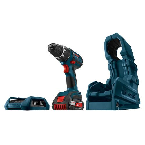 Factory-Reconditioned Bosch WC18CHF-102DDS-RT 18V Cordless Lithium-Ion Compact Tough 1\/2 in. Drill Driver with Wireless (Refurbished)