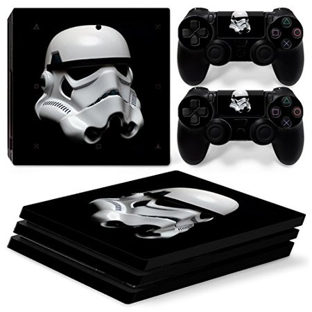 FriendlyTomato PS4 Pro Console and DualShock 4 Controller Skin Set - Star Warrior - PlayStation 4 Pro