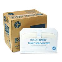 HOSPECO HG-5000 Health Gards Toilet Seat Covers, White, 250 Covers/pack, 20 Packs/carton
