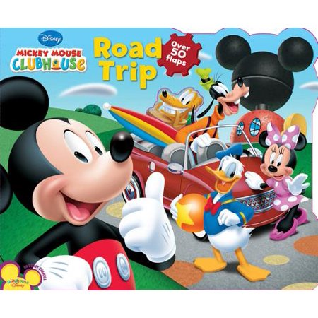 Mickey Mouse Clubhouse Road Trip (Board Book)