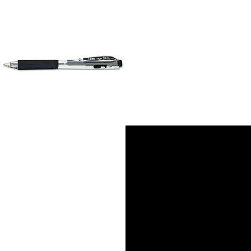 KITPENK437ASAM18290 - Value Kit - Samsill Clean Touch Locking Round Ring View Binder (SAM18290) and Pentel WOW Retractable Gel Pen (PENK437A)