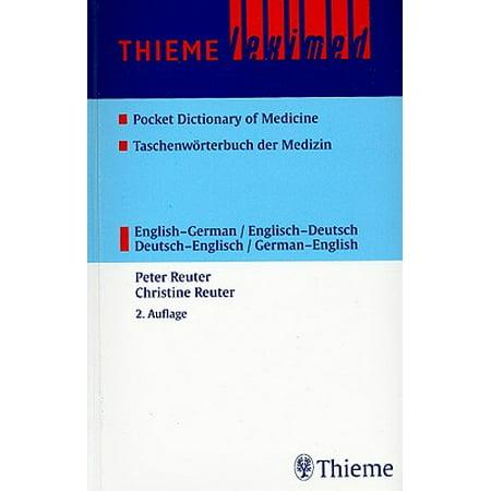 Thieme leximed pocket dictionary of medicine english for Dictionary englisch deutsch