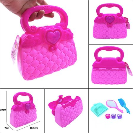 Mosunx Princess Girl's Pretend Play Toy Deluxe Kawaii Handbag Toy Kids Educational Toy - Pray Hands
