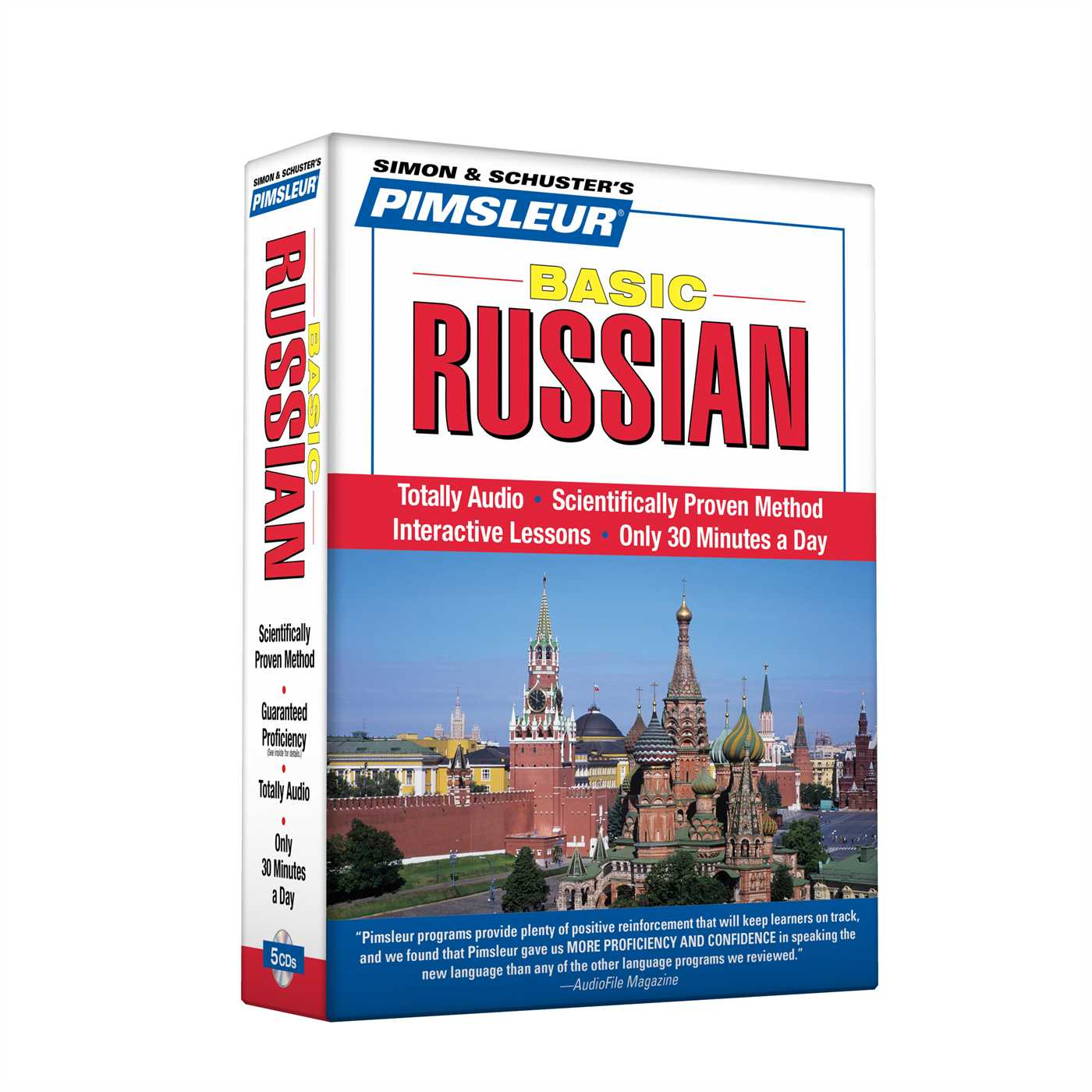 Pimsleur Russian Basic Course - Level 1 Lessons 1-10 CD : Learn to Speak and Understand Russian with Pimsleur Language Programs