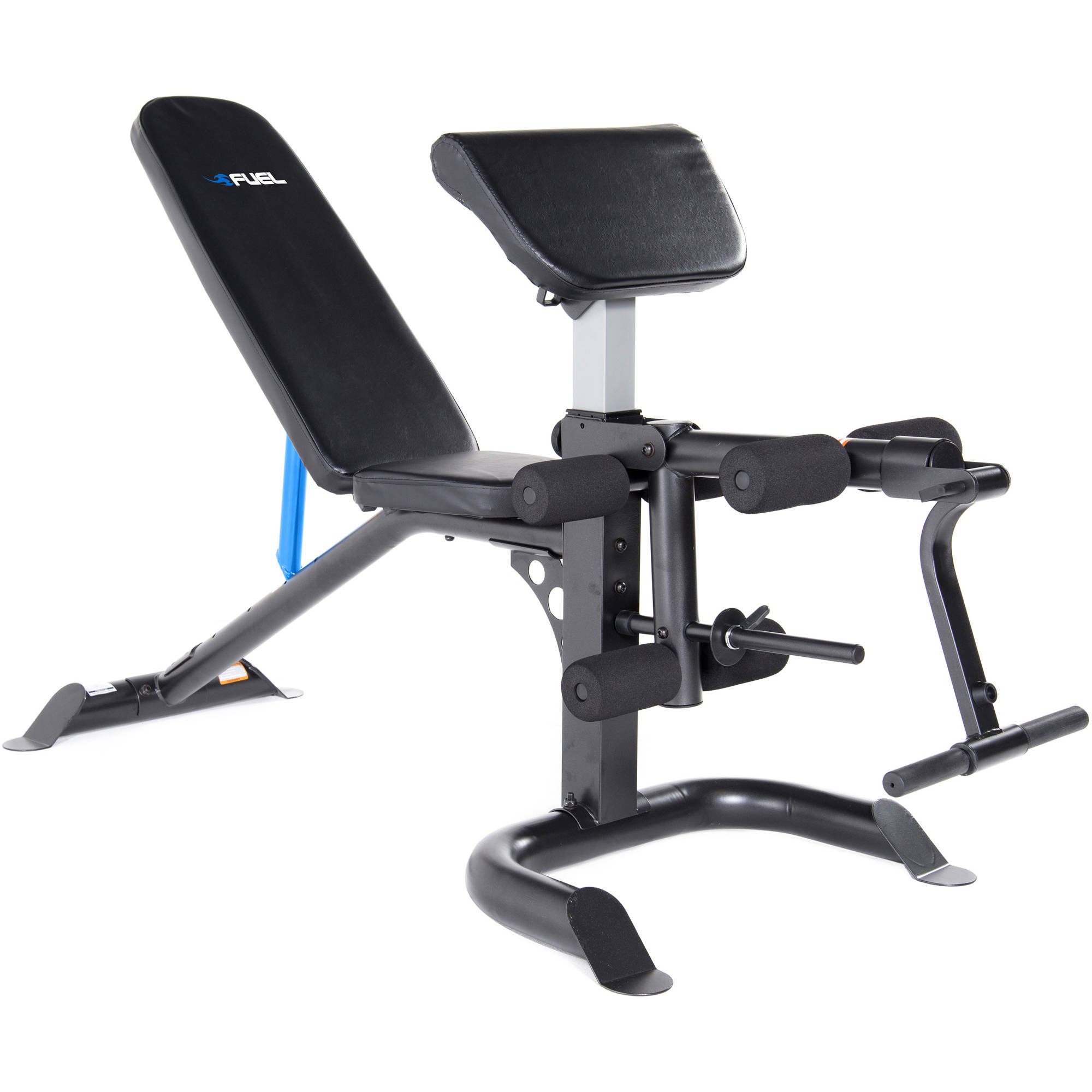 Fuel Pureformance Utility Bench With Curl Attachment By Cap Barbell
