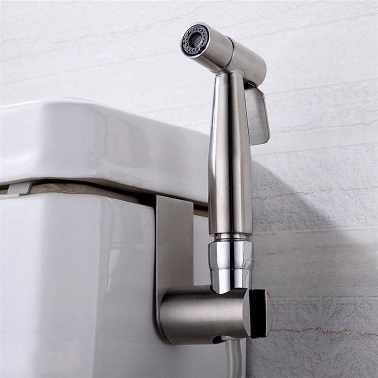 Handheld 304 Stainless Steel Portable Bidet Toilet Sprayer Douche