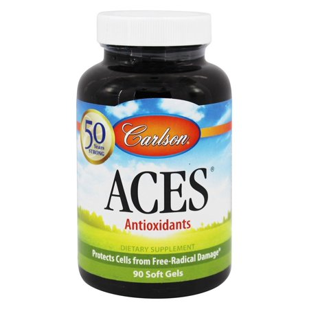 Carlson Labs - ACES Antioxydants - 90 Softgels