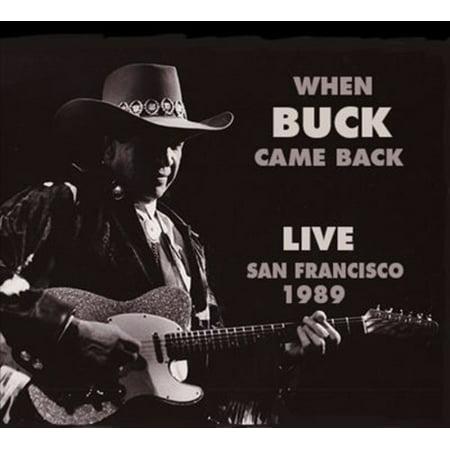 When Buck Came Back Live San Francisco - Live Music Halloween San Francisco