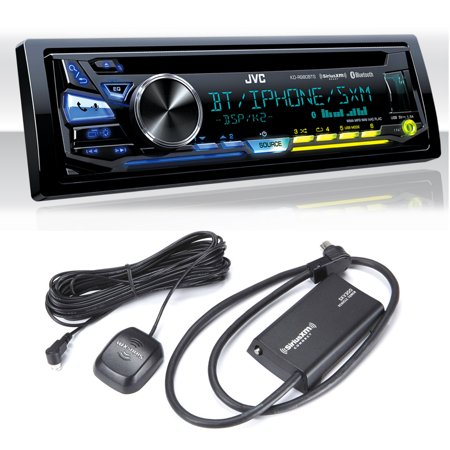 JVC KD-R980BTS USB/CD Receiver with Bluetooth with Sirius XM - Factory Xm Tuner
