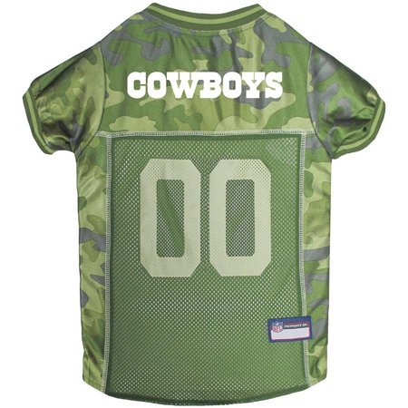 d8ffa28b1e9e0 Pets First NFL Dallas Cowboys Camouflage Jersey For Dogs