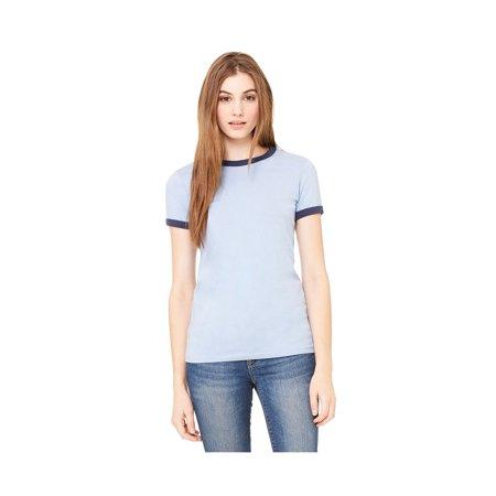 48a8bca0 Bella+Canvas - Bella+Canvas Women's Jersey Contrast Ringer T-Shirt ...