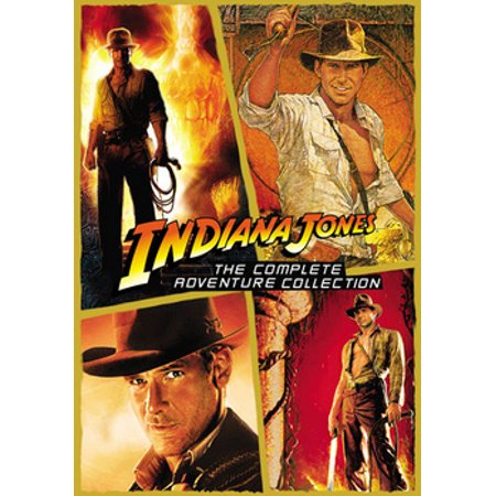 Indiana Jones: The Complete Adventure Collection (DVD) - Halloween Complete Collection Dvd