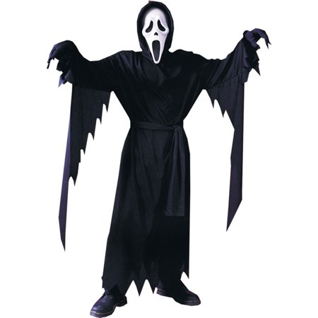 Scream Halloween Costume Robe ONLY Fun World Boys Fits up to Age 12 Fit Most, Style FW8874 - Real Scream Costume