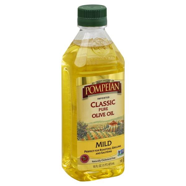 Pompeian® Imported Classic Pure Mild Olive Oil 16 fl. oz. Bottle