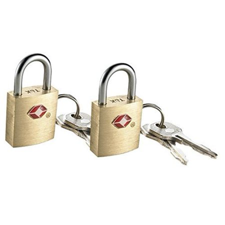 Conair TS2A01TS Travel Smart Travel Sentry Padlocks - 2 Pack