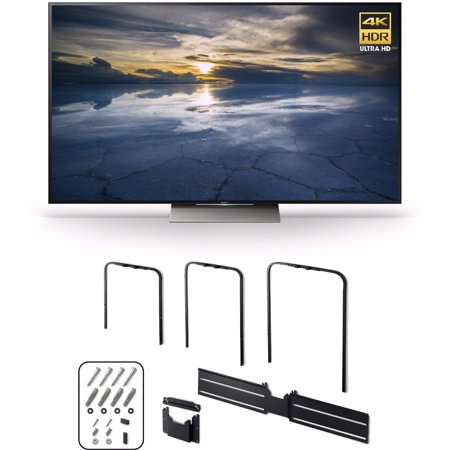 Sony XBR75X940D 75-Inch 4K HDR (2016 Model) + Sony Television Wall Mount SUWL810 by