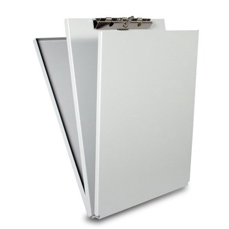 White Rosewood Letter Holder - Saunders Recycled Aluminum A-Holder Form Holder Letter Size 8.5 x 12-Inches (10017)
