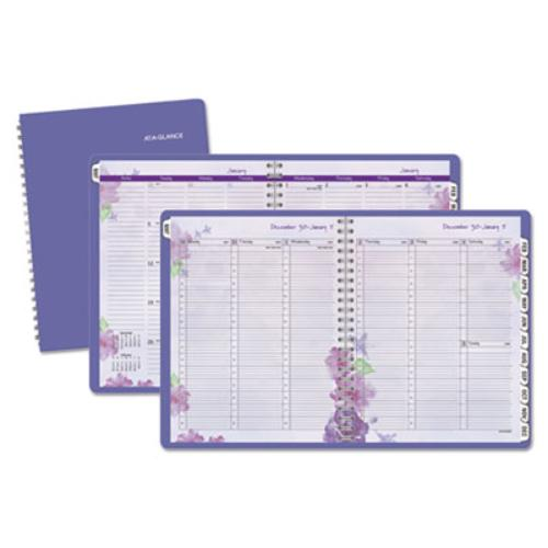 At-A-Glance Professional Appt Book, 8-1/2 x 11, Purple, 2019 (AAG938P905)