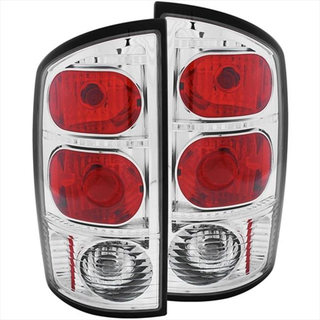 ANZO 211043 Tail Lights Red, Chrome