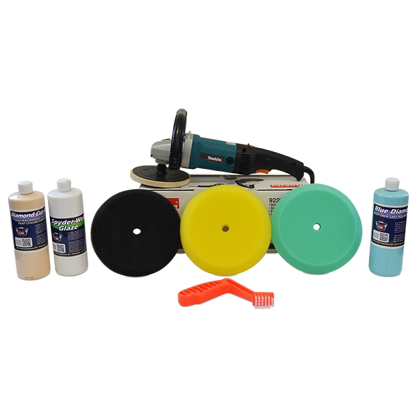 """Makita Rotary Polisher 9237C """"Swirl & Oxidation Remover"""" Value Package"""