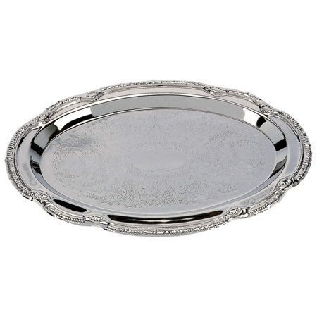 - Sterlingcraft® Oval Serving Tray