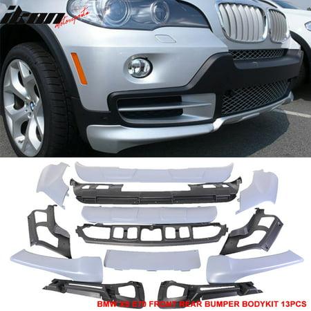 - Fits 07-10 X5 E70 PP Full Aerodynamic AERO Bumper Body Lip Kit Front&Rear 13PCS