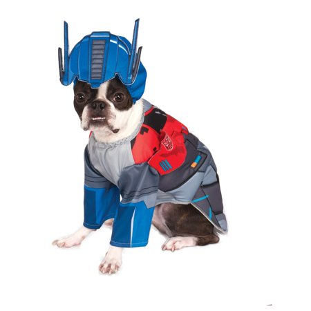 Transformers Deluxe Optimus Pet Halloween Costume - Pet Society Halloween Room