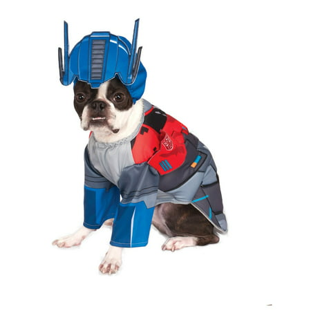 Transformers Deluxe Optimus Pet Halloween Costume (Pet Halloween Costumes Uk)