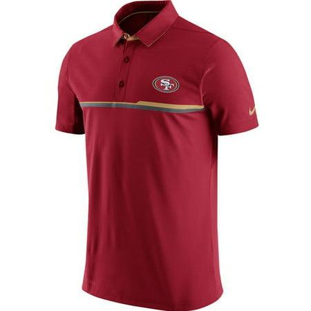 San Francisco 49ers Nike Elite Coaches Performance Polo - Scarlet