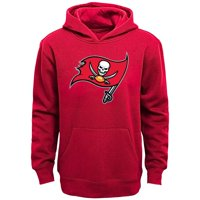 Tampa Bay Buccaneers Youth Team Logo Pullover Hoodie - Red
