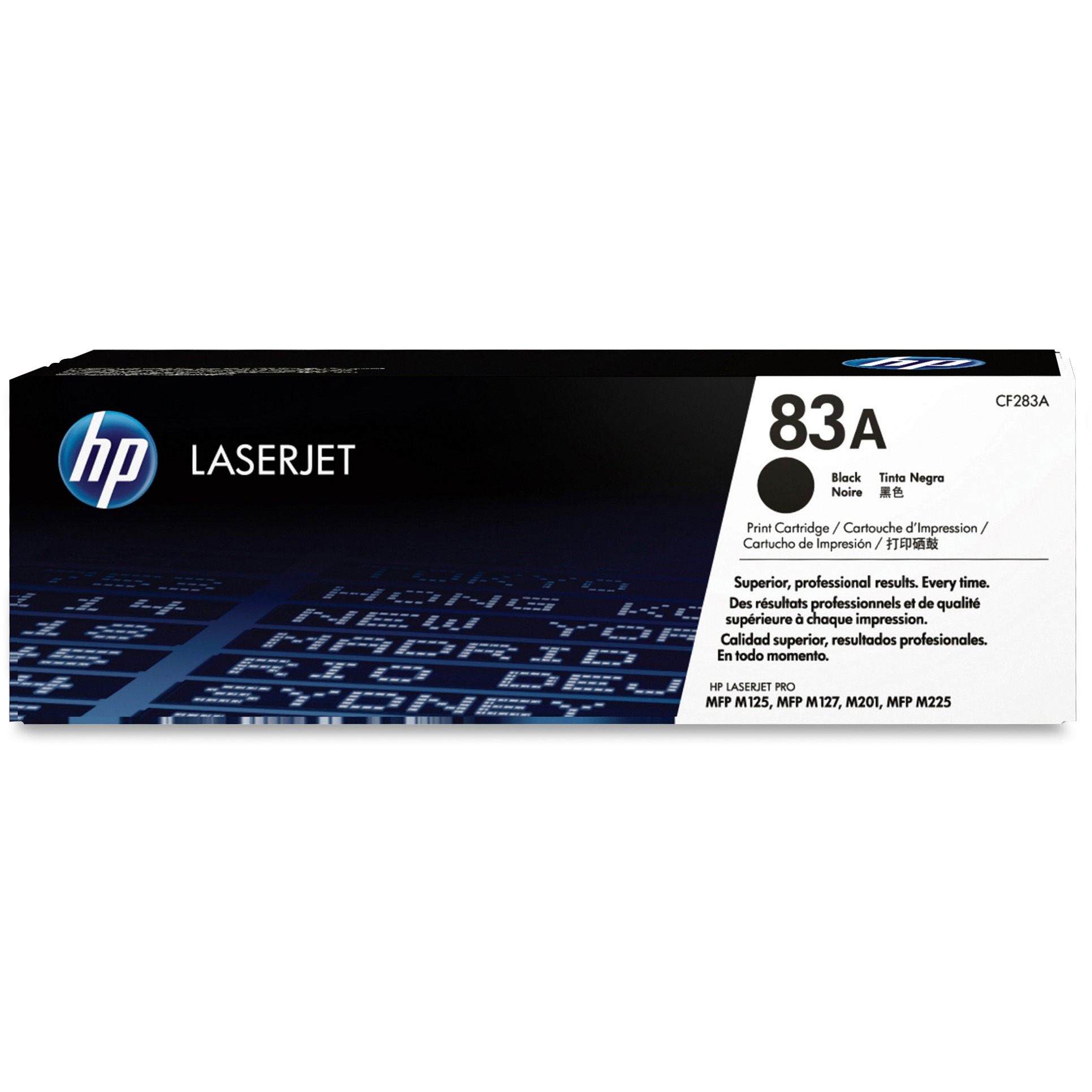HP 83A (CF283A) Black Original LJ Toner Cartridge